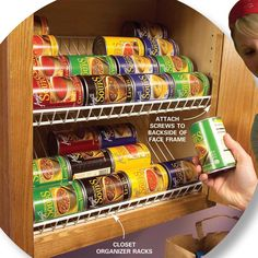 Quick and clever kitchen storage ideas and solutions for fighting kitchen clutter.