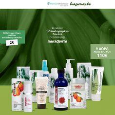 Διαγωνισμός PremiumPharmacy με δώρο Πακέτο Περιποίησης Macrovita Castor Oil, Vodka Bottle, Soap, Personal Care, Drinks, Drinking, Beverages, Personal Hygiene, Drink