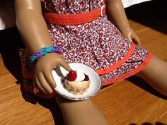 American Girl Doll Food/Sweet Deco/play foods