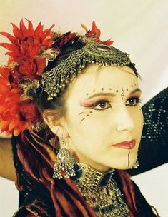 american tribal dancers | Tribal belly dance makeup inspiration | Bellydance Vogue