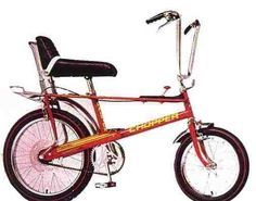 The ultimate ride - A Raleigh Chopper with stick gear shift!