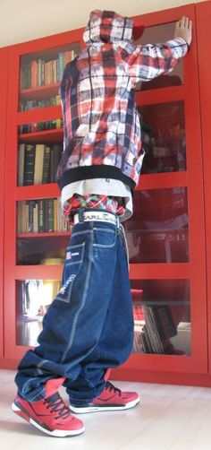 """ronone: """"Baggy sagger in hoodie """" """" Sagging Pants, Cargo Pants Men, Nice Clothes, Casual Pants, Blue Jeans, Hip Hop, Overalls, Cool Outfits, Urban"""