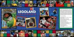 legoland  scrapbook layouts | Legoland - Digital Scrapbook Place Gallery
