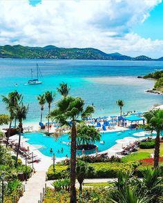 The Ritz-Carlton, St. Thomas - USVI  Credits ✨@nodestinations✨ . #beachesnresorts for a feature