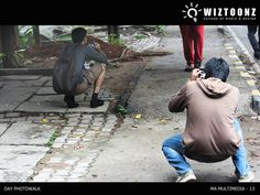 """""""Students in action – behind scenes - Day Photo Walk Workshop – for M.A. multimedia batch – conducted by Ms.Priya RadhaKrishnan, Photography mentor"""