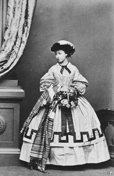 Princess Helena, March 1861 [in Portraits of Royal Children Vol.5 1860-1861] | Royal Collection Trust