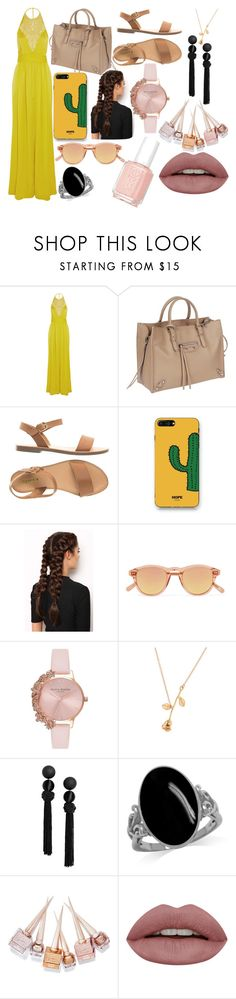 """Sin título #4543"" by onedirection-h1n1l2z1 ❤ liked on Polyvore featuring Emilio Pucci, Balenciaga, WithChic, LullaBellz, Chimi, Olivia Burton, Christian Louboutin and Essie"