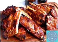 Crockpot, Bento And Co, Spareribs, Sous Vide, Slow Cooker Recipes, Chicken Wings, Bacon, Grilling, Bbq