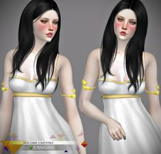 Downloads sims 4:Base Game compatible Accessory upper arm dual bracelets | JenniSims Die Sims, Sims Cc, Sims 4 Cc Shoes, Sims 4 Cc Skin, Arm Bracelets, Sims 4 Update, Sims 4 Custom Content, Arms, Super Cute