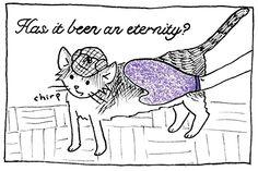New Inspector Scrambles! See the full comic http://sorrykatari.com/inspector-scrambles-ode-glove #webcomic #cats #cute
