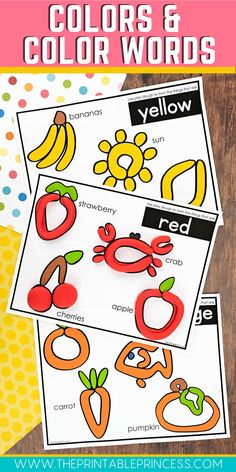 Recognizing colors and color words is an important skill for young students to learn. This complete bundle includes activities for teaching colors at the beginning of the year and then activities for teaching color words. Literally everything you need is included. From NO PREP pages and low prep activity mats to centers and partner games. Best of all your PreK and Kindergarten students will have so much fun completing the activities, they won't realize they are actually learning!