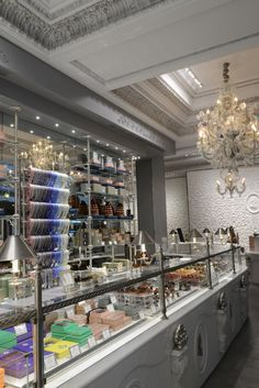 La Duree  in Paris. Best quality chocolates ever!