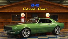 https://www.aeclassiccars.com/New-Braunfels/Texas/For-Sale/listings/1968-chevrolet-camaro-rs-pro-touring-green-silver/