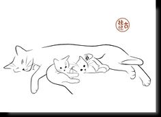 Feline art postcards - My CMS Animal Line Drawings, Animal Silhouette, Silhouette Art, Cat Whisperer, F2 Savannah Cat, Cat Quilt, Cat Drawing, Cat Tattoo, Pyrography