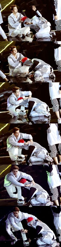 140602 EXO The Lost Planet in Hongkong - Sehun  Luhan #hunhan ♥♥ They're so cute~