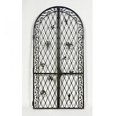 SAMUEL YELLIN Pair of doors from the solarium of the W.W. Knight Estate, Ohio