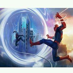 Marvel Art, Marvel Heroes, Marvel Characters, Marvel Comics, Cosmic Comics, Spiderman 3, Amazing Spiderman, Symbiotes Marvel, Spider Baby
