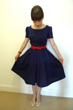 The Birthday Party Dress from Tilly and the Buttons