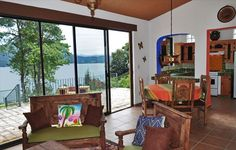 Patzcuaro cottage rental - Cozy, but with a wide open view.