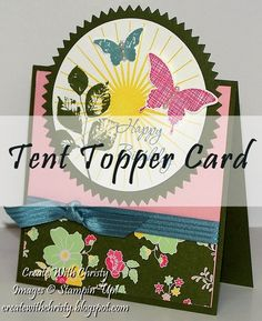 Create With Christy: Tent Topper Card