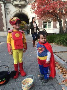 DIY Iron Man and Superman