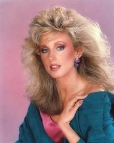 Twenty Pictures Of 80s Style Big Hair | Cool Aggregator. Chandler's Mom on Friends, by the way. Morgan Fairchild.