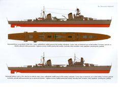"U.S.S.R. cruiser ""Kirov"" WW2"