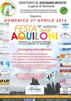 Festa degli Aquiloni a Sirmione http://www.panesalamina.com/2014/23764-festa-degli-aquiloni-a-sirmione.html
