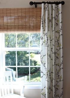 Window Treatment Ideas That Won't Break Your Budget! Advice On Navagating Through The Maze Of Choosing Your Window Treatments! Window Treatment Ideas That Won't Break Your Budget! Advice On Navagating Through The Maze Of Choosing Your Window Treatments! Corner Window Treatments, Window Treatments Living Room, Window Coverings, Bedroom Windows, Living Room Windows, Living Rooms, Drapery Panels, Panel Curtains, Check Curtains