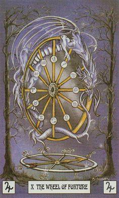The Wheel of Fortune    DRAGON TAROT