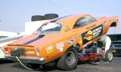Plymouth Road Runner Funny Car