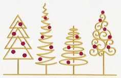 Classic Christmas Border | Urban Threads: Unique and Awesome Embroidery Designs