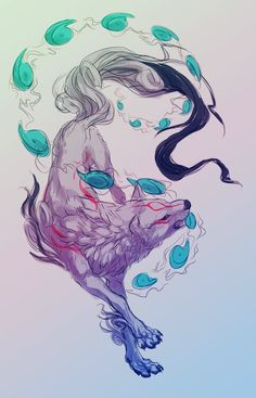 Amaterasu | by soulwithin465 on tumblr