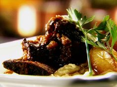 Get this all-star, easy-to-follow Bistro-Style Short Ribs recipe from Tyler Florence