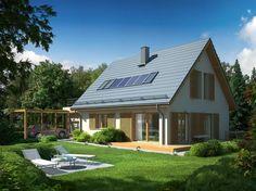 ekorodzinny - projekt domu energooszczędnego