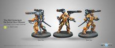 Infinity: Yu Jing Yan Huo Invincibles (2 Missile Launchers)