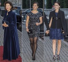 On Tuesday evening, King Carl Gustaf and Queen Silvia, Crown Princess Victoria and Prince Daniel, Prince Carl Philip and Princess Sofia attended a performance of the ballet Raymonda at Sweden's Royal Opera in Stockholm. 15 September 2015