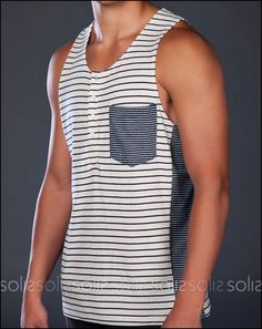 Shades of Grey Henley Tank - Summertime!! @Dylan Berge