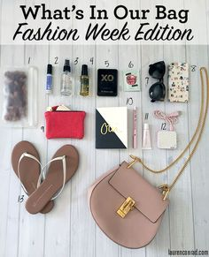 You can catch these items in Team LC's bag come Fashion Week!