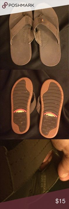 Women's Rainbow Flip Flops, Size 4/5 Women's Rainbow Flip Flops, Size 4/5.  These are in good condition, barely worn! Rainbow Shoes Sandals