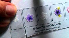 Passo a Passo flor de CARGA DUPLA(Elaine Souza)