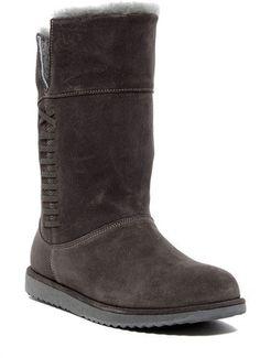 Emu Sandy Bay Foldover Sheepskin Lined Waterproof Boot