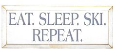 Wood Signs and Sayings - Sports Wood Signs - Skiing and Snowboarding - Country Marketplace