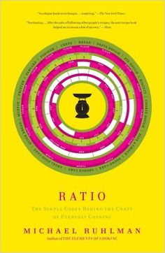 Ratio: The Simple Codes Behind the Craft of Everyday Cooking: Michael Ruhlman: 9781416571728: AmazonSmile: Books
