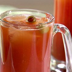 Spicy Red Beer recipe from Sandra Lee via Food Network Beer Recipes, Alcohol Recipes, Drink Recipes, Best Red Beer Recipe, Dog Beer Recipe, Butterbeer Recipe, Booze Drink, Wheat Beer, Cocktails