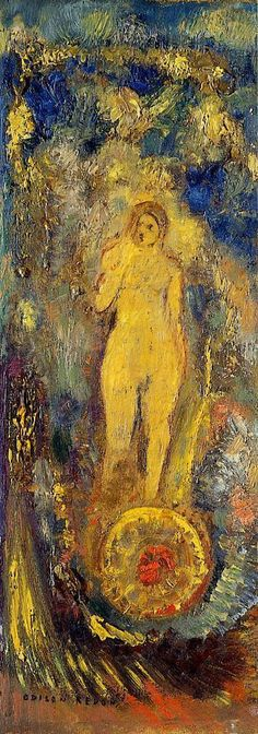 The Wheel of Fortune | Odilon Redon | oil painting