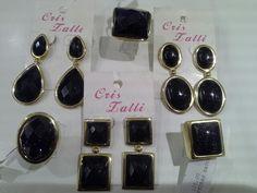 Brincos e anéis banho ouro 18k e pedras da estrela! #criszalli