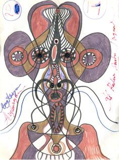 Zugabe zur Sendung von Zeichnungen Noviadi Angkasapuras