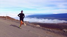 Jason Lester runs Mauna Kea, a dormant volcano in Hawaii, to prepare for his run across the Great Wall of China. Mauna Kea is feet from oceanic base to summit.