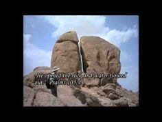MOUNT SINAI- proof of the supernatural - YouTube ... The TRUE MT is kept secret by the Arabian Muslim government. PROOF the Bible is TRUE!!!  The Israelites did leave Egypt with Moses and they dwelt at the base of the Mount of God in Midian, Arabia. Jabel el Lawz means 'mount of the law' hence the ten commandments. It was the Muslims who lied (pre 4th century AD), convincing those seeking the mount that it was on the Sinai Peninsula and not in Arabia.